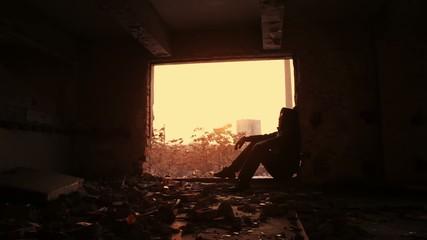 Depression Young Man Depressed Solitude Despair