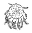 American Indian dreamcatcher of shaman
