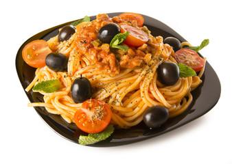 Ración de spaghetti