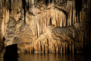 Caves of Drach. Majorca, Spain