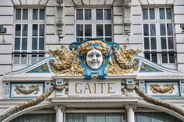 Belgium, picturesque city of Brussels