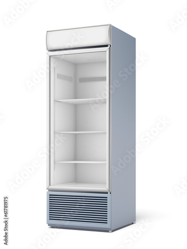Drink display fridge