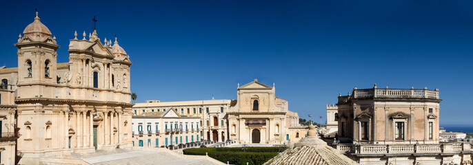 Panorama of Noto