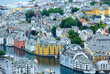 Alesund town (Norway)