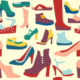 women shoes pattern