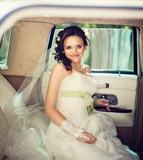 wedding. Beautiful bride woman portrait