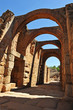 Roman amphitheater of Merida, Extremadura, Spain