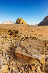 Wadi Rum desert reg