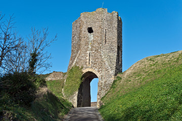 Dover castle entrance tower