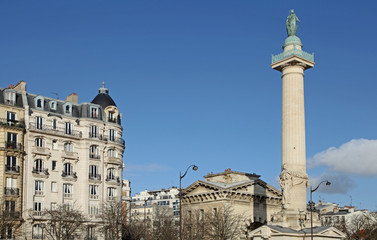colonne place de la nation Paris