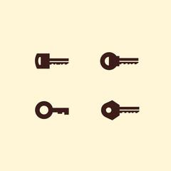 Key. Vector format