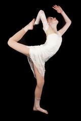 young girl dance scorpion