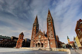 Votive church in Szeged, Hungary