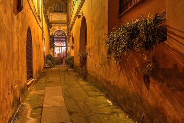 Hidden church in Rome, Italy