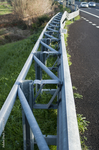 Highway guard rail
