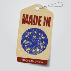 Made in EU    . Tag .