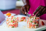 Bahamian conch salad