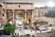 Roman Forum, Arch of Septimius Severus, Rome
