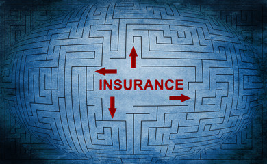 Insurance maze concept