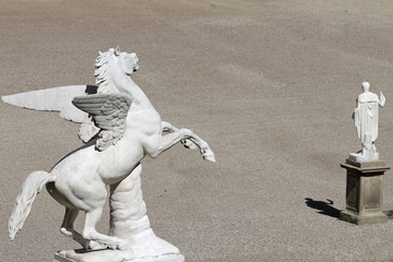 Pegasus sculpture in Boboli Garden,  Florence