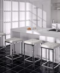 White Kitchen (detail)