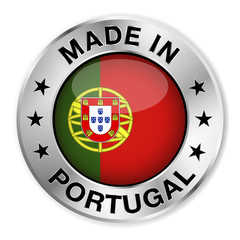 Made In Portugal Silver Badge