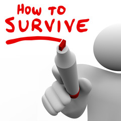 How to Survive Words Advice Learning Skills Knowledge Survival
