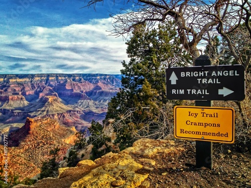 Bright Angel Trail Grand Canyon National Park, USA