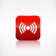Wireless web icon. Application button.