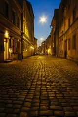 Kazimierz, former jewish quarter of Krakow: Szeroka Street