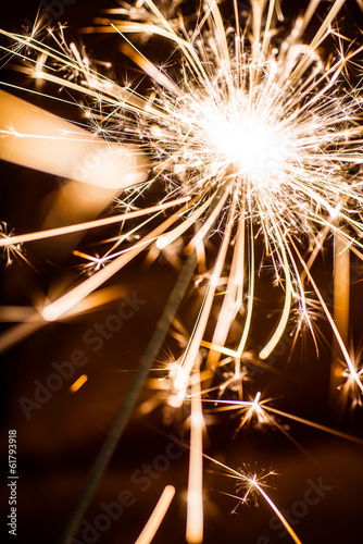 Yellow Party Sparkler