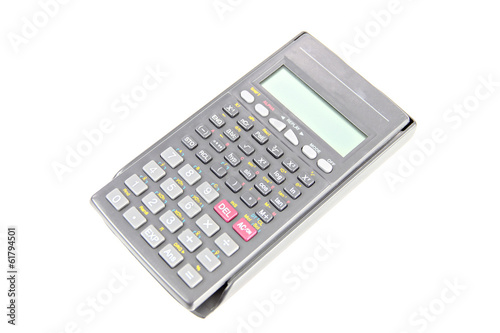 Calculator in variety of models isolated.