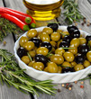 Olives with rosemary