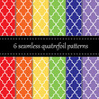 Twelve seamless geometric patterns