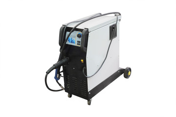 welding machine isolated on white background