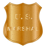 United States MArshal Shield Badge