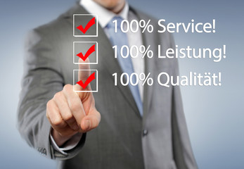 Service,Leistung,Qualität