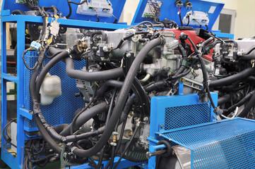 テストベンチのエンジン
