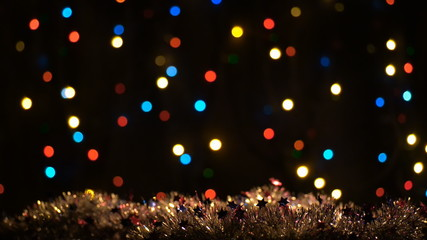 Holiday, christmas, new year Colorful  Background Loop