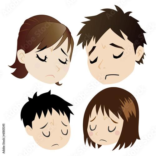 悩む核家族