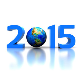 Worldwide..celebrates the New Year - 2015
