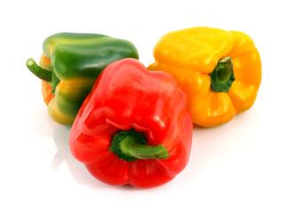 Papryka - trzy kolory