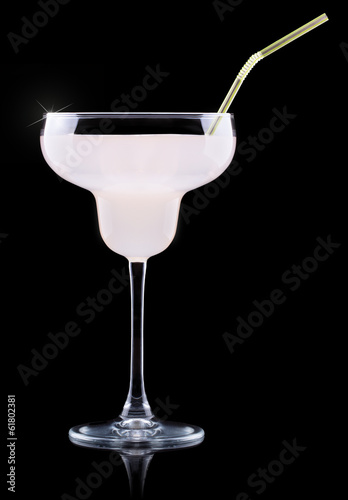 glass of Pina Colada Cocktail