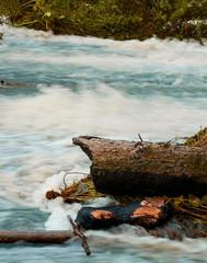 tempestuous mountain river