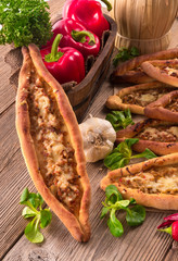 home-baked pide