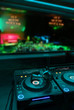 Music mixer nightclub nightspot