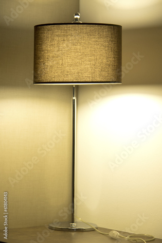 Illuminated lamp