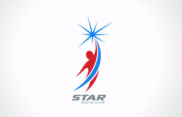 Logo Sport Fitness Business Corporate vector icon design