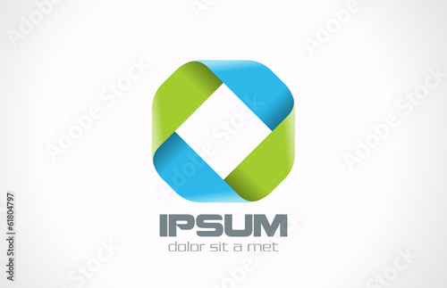 Logo Rhombus Corporate Business Abstract design