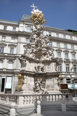 Vienna. Plague column